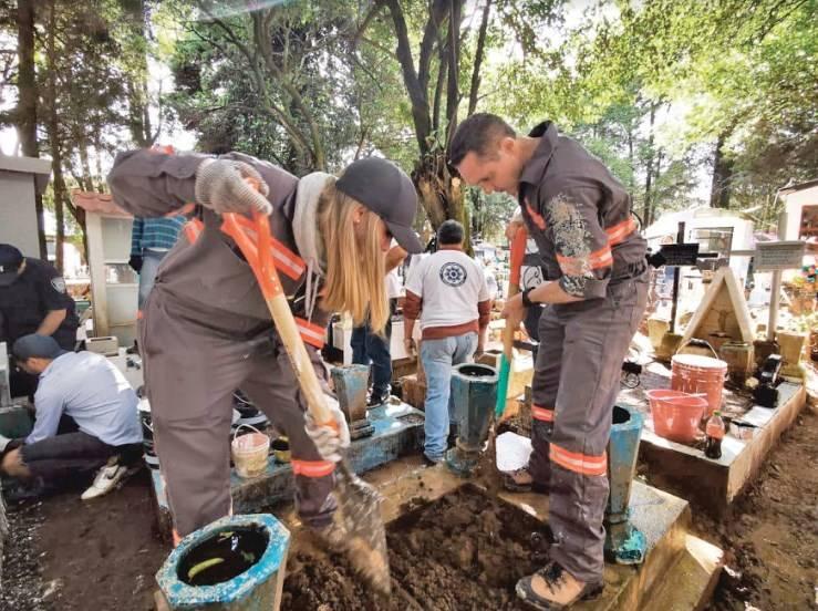 Invierte Cuajimalpa 7 mdp en rehabilitación de panteón