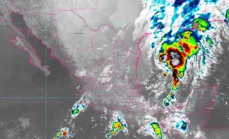 Depresión tropical 17 ocasionará lluvias en oriente del país