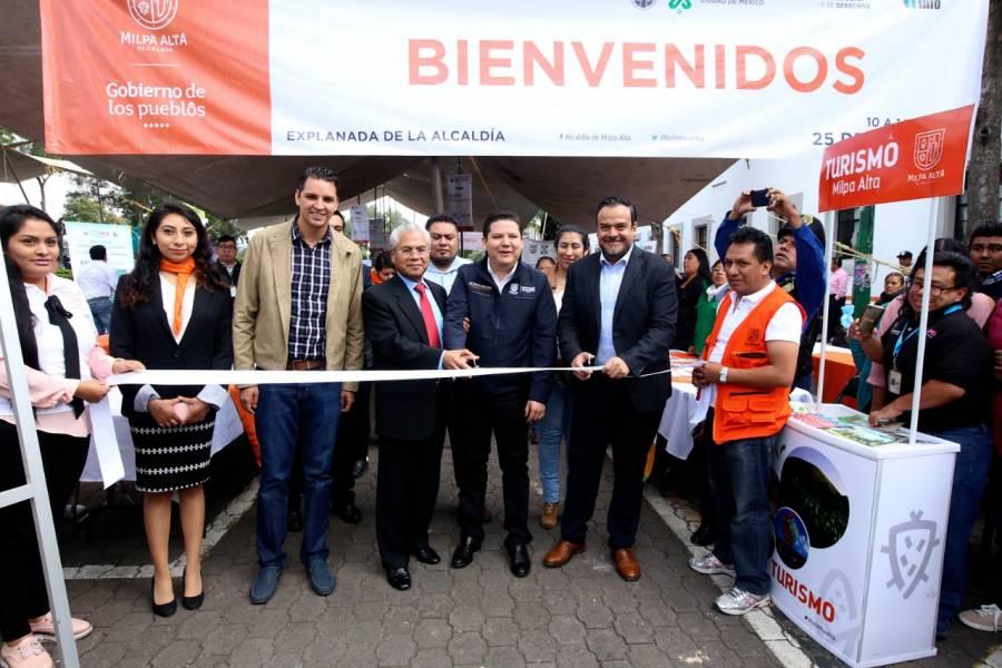 INFO inaugura Feria de la Transparencia en Milpa Alta