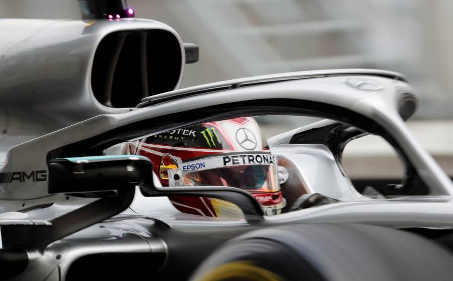 """Hamilton primer lugar en prácticas del GP de México; """"Checo"""" en el décimo sitio"""