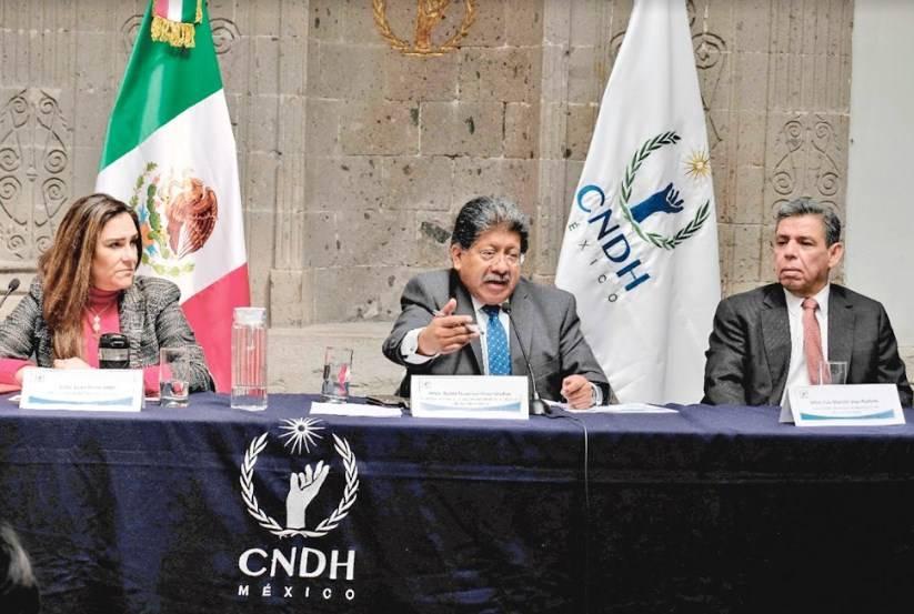 Comisión exige a los 3 niveles de Gobierno cumplir recomendaciones