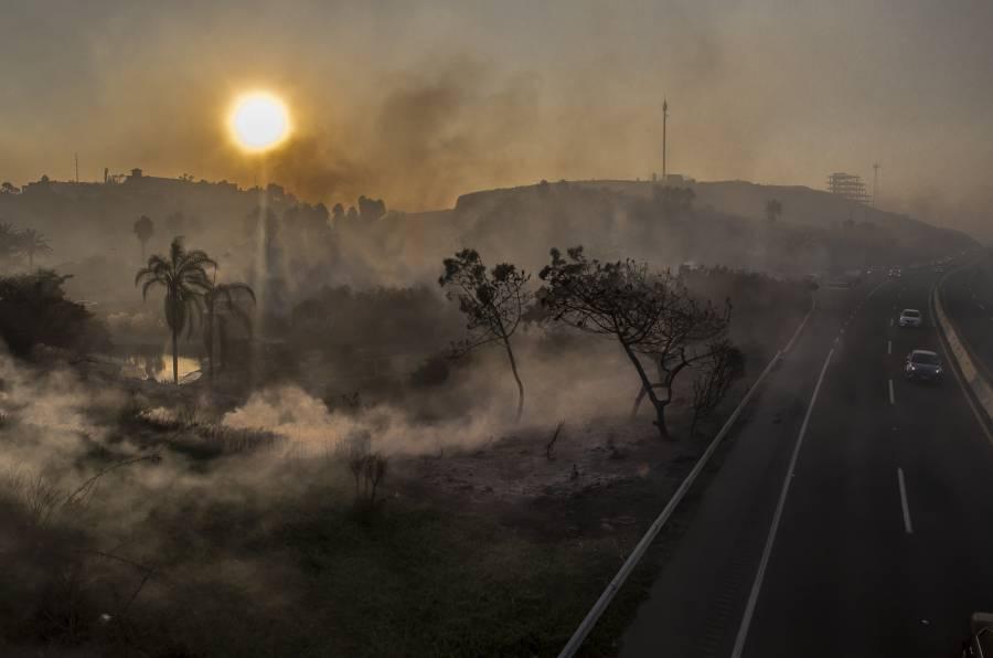 Incendios provocan severas afectaciones en Tijuana