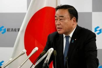 Renuncia ministro de comercio de Japón tras escándalo electoral