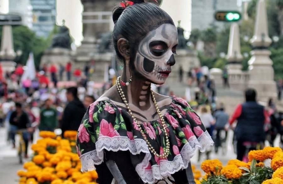 Se lleva a cabo el Desfile Internacional del Día de Muertos en la CDMX