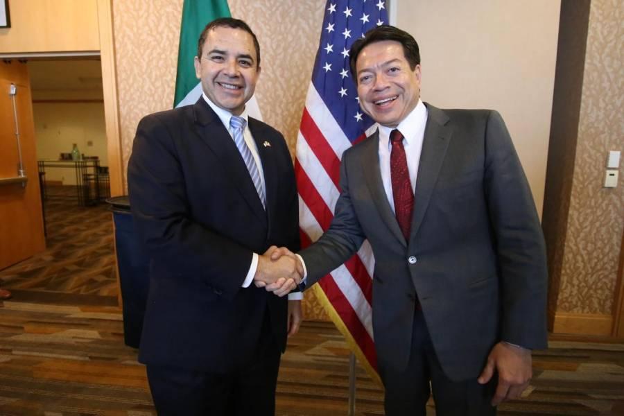T-MEC, seguridad y migración se abordaron durante Reunión Interparlamentaria México-Estados Unidos