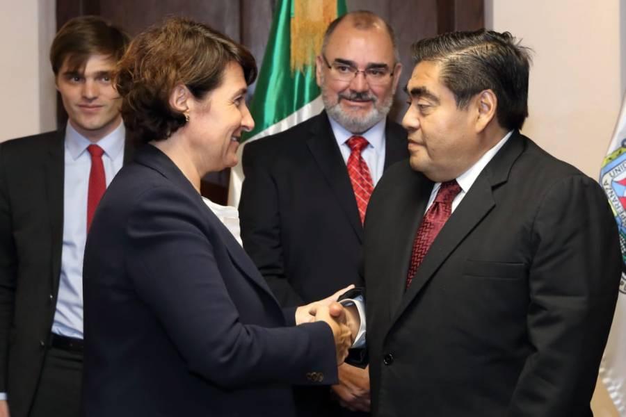 Puebla garantiza certidumbre a inversionistas nacionales y extranjeros: Barbosa