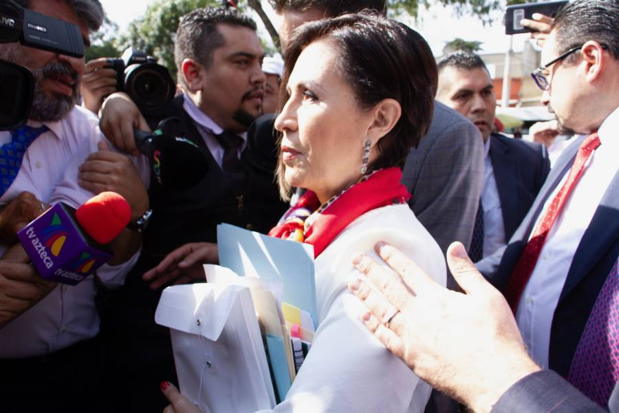 Revelan video donde dictan prisión preventiva a Rosario Robles