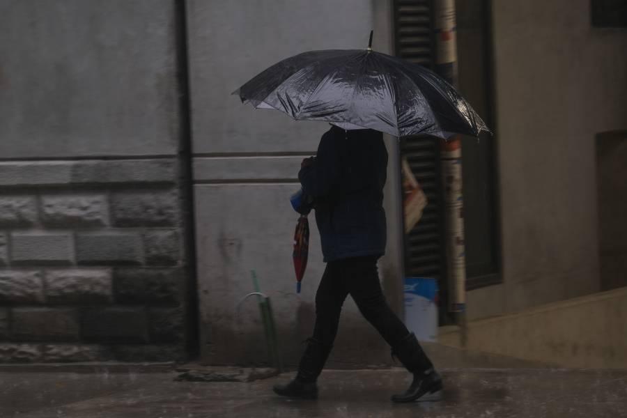 Activan Alerta Amarilla por lluvias en siete alcaldías de la CDMX