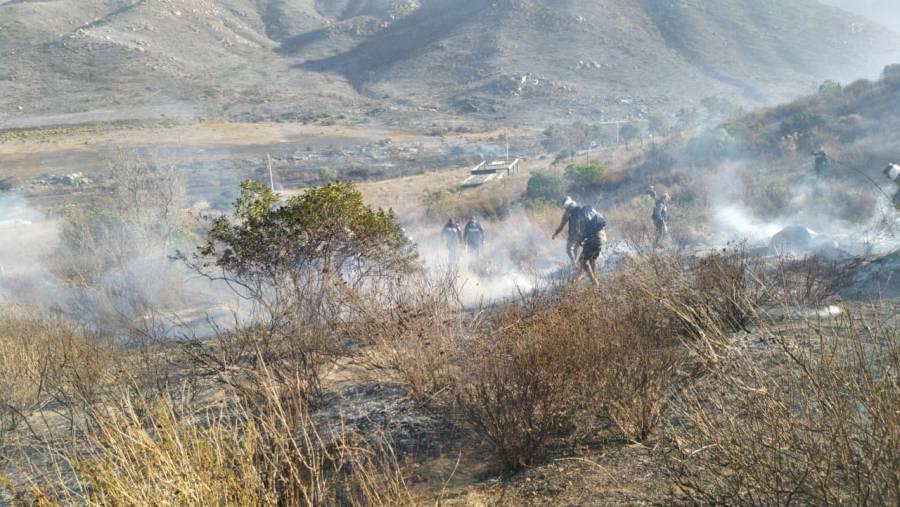 Controlan en 90 por ciento incendios en Ensenada y Tecate