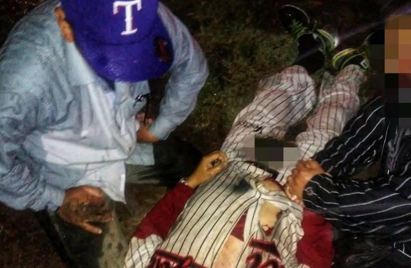 Rayo mata a hombre en deportivo de Iztapalapa