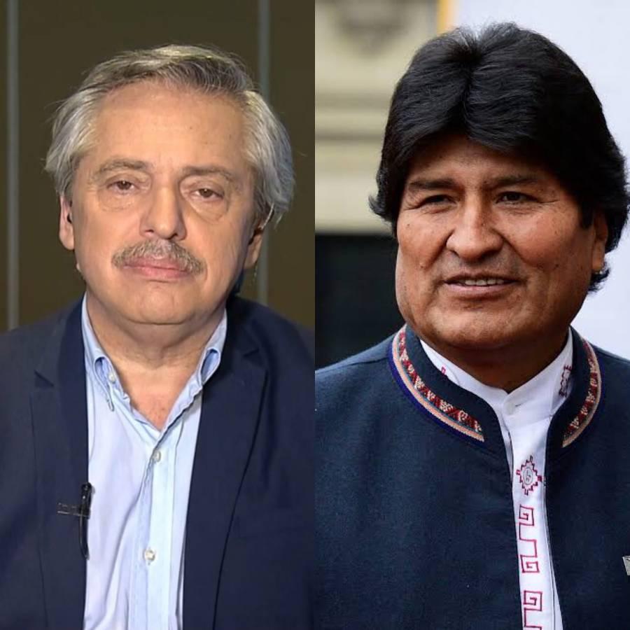 Felicita AMLO a Evo Morales y Alberto Fernández por sus triunfos electorales
