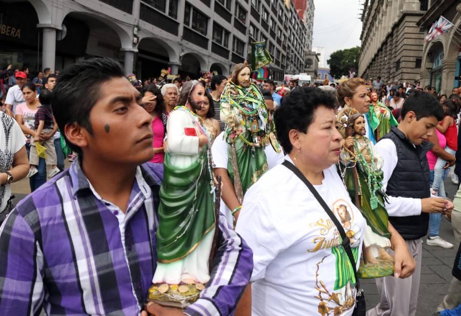 Cierran avenidas por celebración de San Judas Tadeo