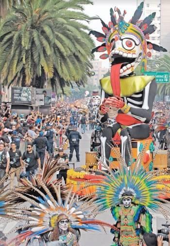 Emerge el Mictlán y enloquece a la capital