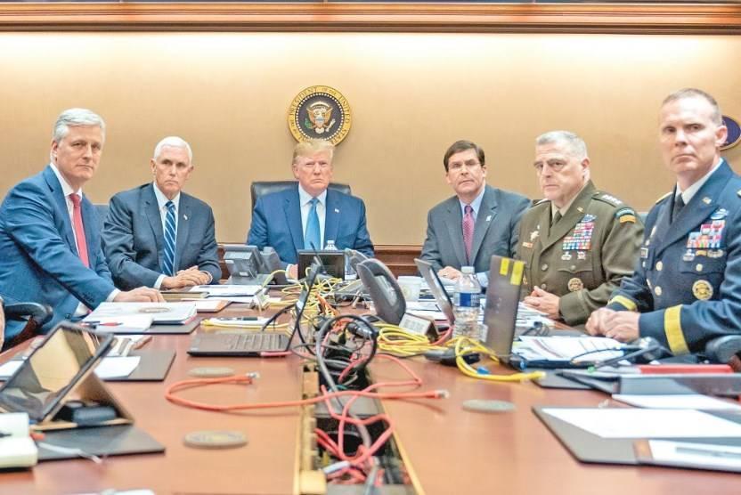 """Trump: """"murió al Baghdadi como un perro, llorando..."""