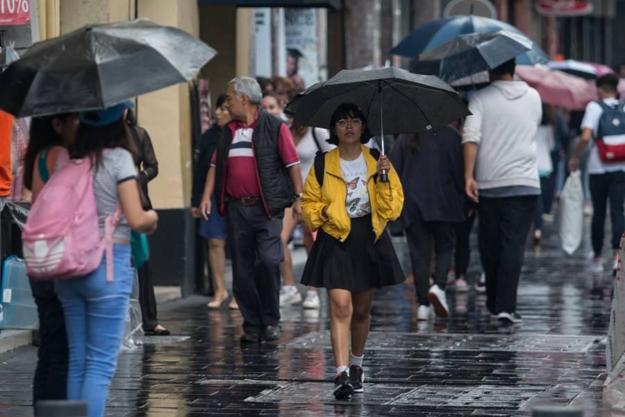 Persistirán las lluvias en el Valle de México este lunes