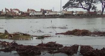 Por lluvias en Tabasco, Dos Bocas sufre serias afectaciones