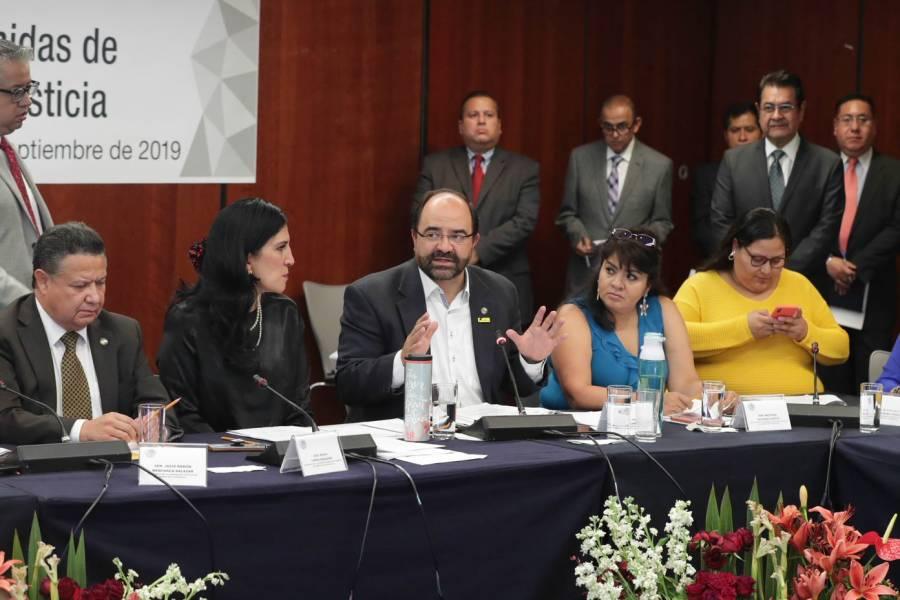 Define Senado en comisiones la terna para elegir nuevo titular de la CNDH