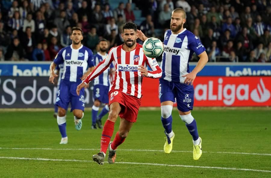 Atlético de Madrid empata ante el Alavés y deja escapar liderato