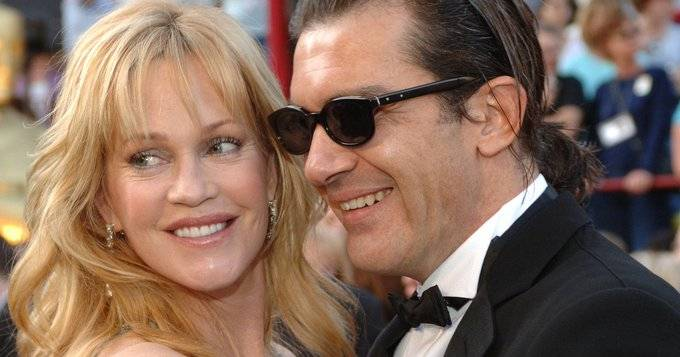 Antonio Banderas y Melanie Griffith: reencuentro en pleno Hollywood