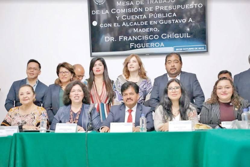 Acusa Chíguil falta de autonomía financiera en GAM