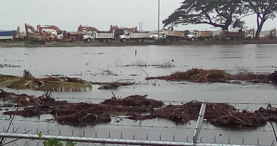 Reconoce Gobierno inundación de Dos Bocas