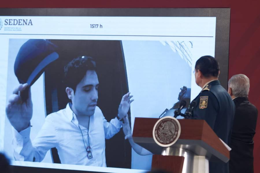 En operativo de Culiacán se llevó a Ovidio Guzmán al aeropuerto: Sedena