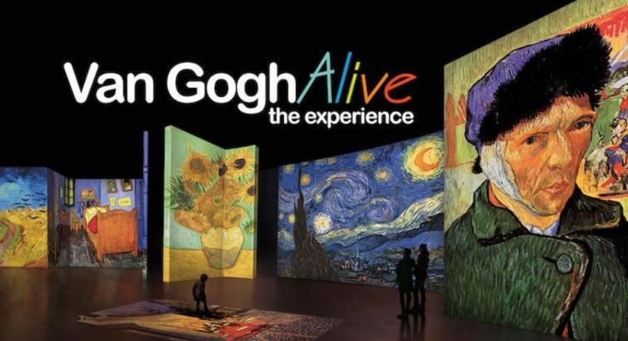 Van Gogh Alive The Experience llegará al Monumento a la Madre en 2020