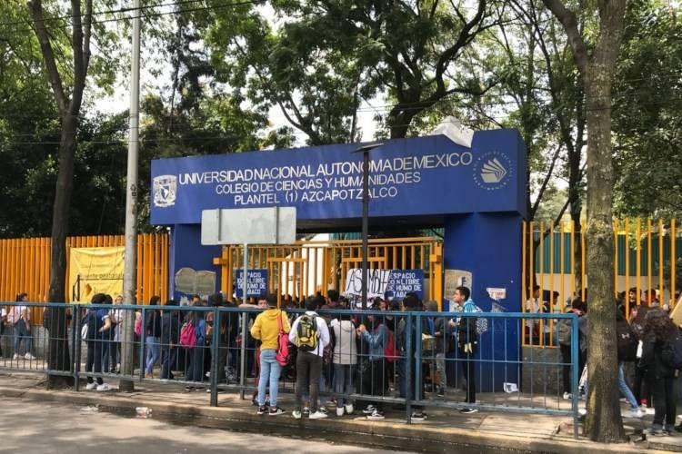 CCH Azcapotzalco permanecerá cerrado hasta el lunes
