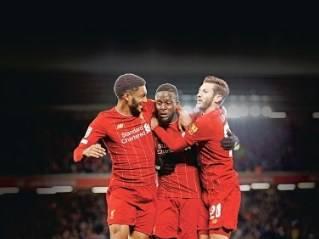 En partido de 10 goles, Liverpool se impone de local al Arsenal