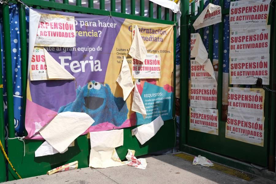 Los trabajadores de La Feria recibirán seguro de desempĺeo CDMX
