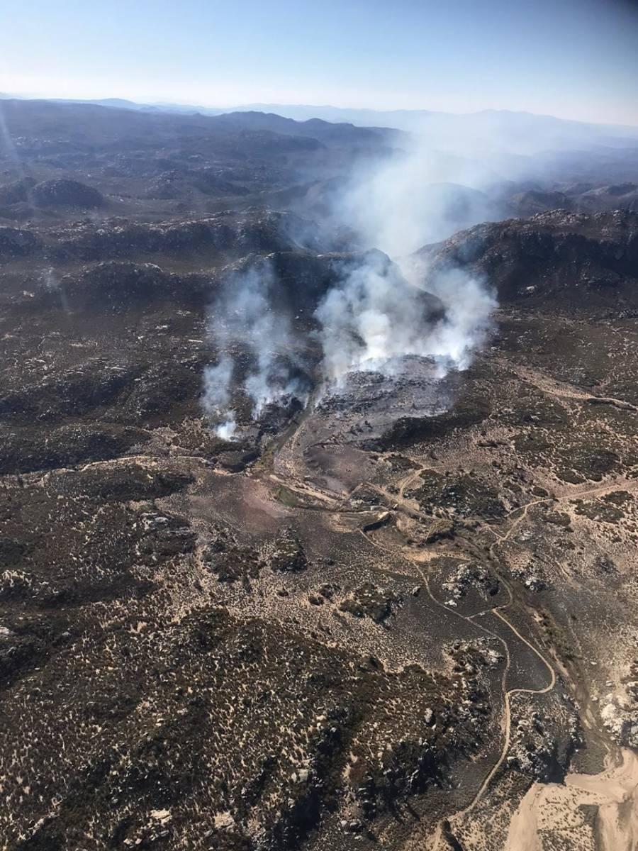 Solo hay un incendio activo en Baja California