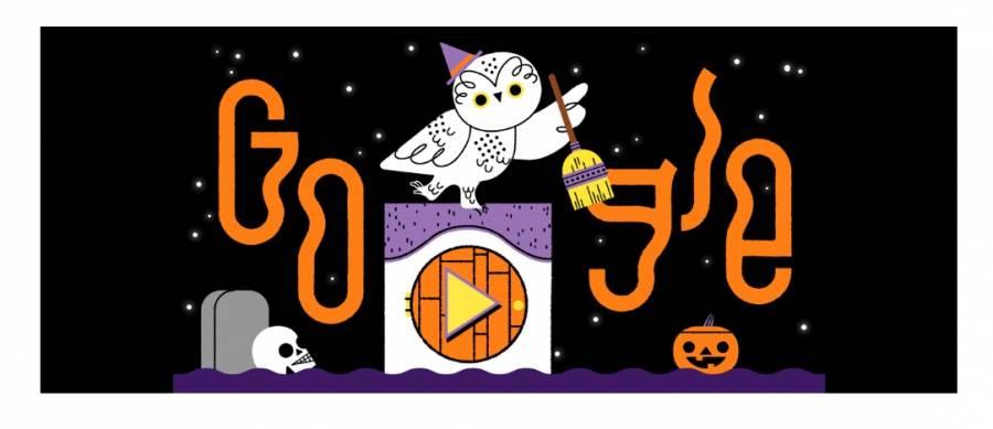 """Celebra Google Halloween con un doodle interactivo al estilo """"¿trato o truco?"""