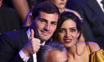 'Estás llegando a la meta', palabras de aliento de Sara Carbonero a Iker Casillas