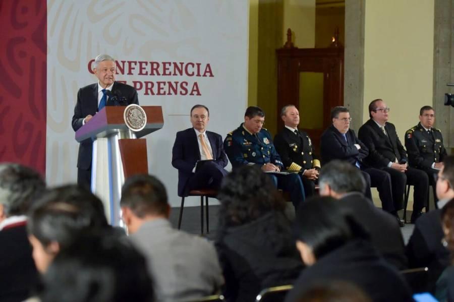 Responsable de operativo en Culiacán tiene la protección que tenemos todos los funcionarios: AMLO