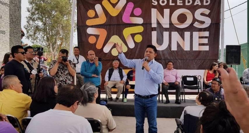 La unidad de los mexicanos logrará la paz social: Ricardo Gallardo
