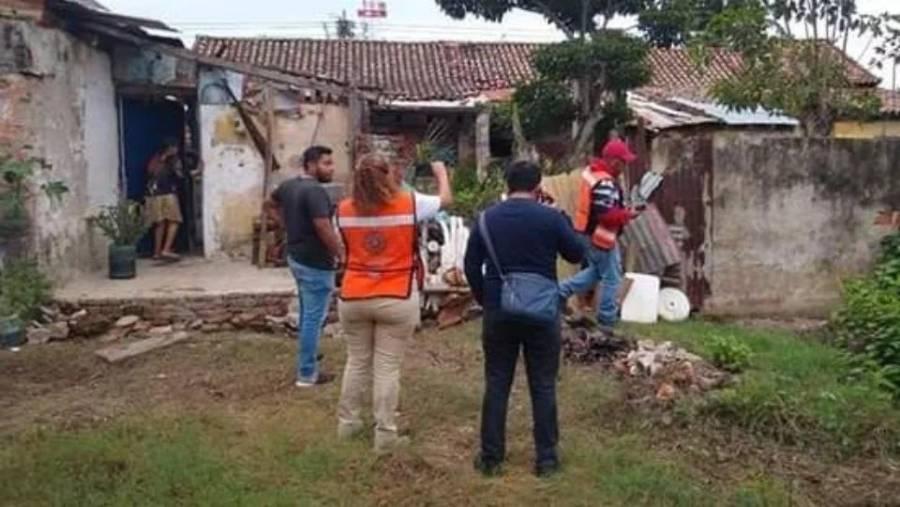 Paso del frente frío 8 deja un muerto en Veracruz