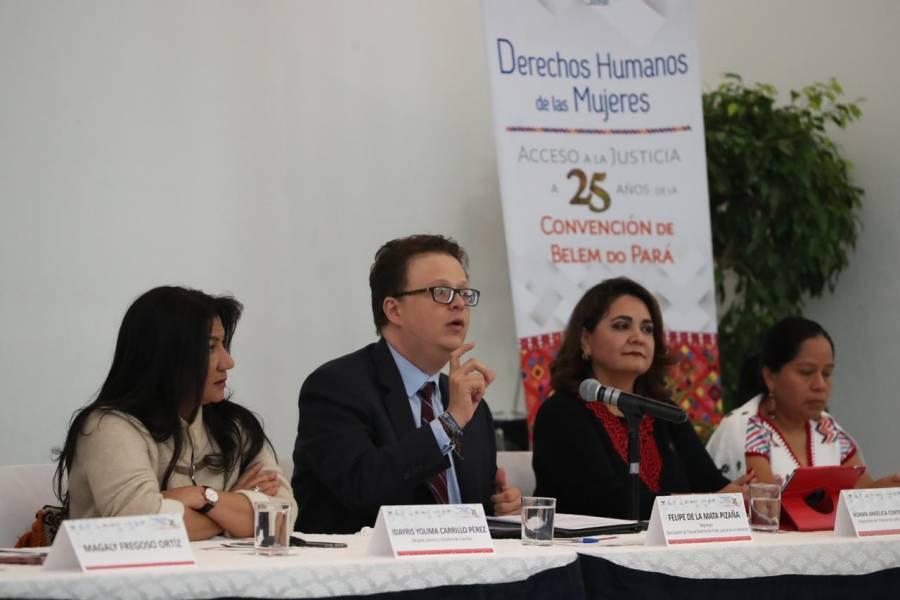 Necesaria, ley para combatir la violencia política de género: TEPJF