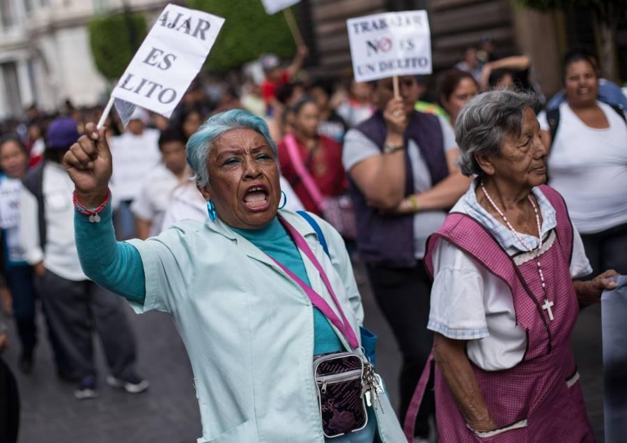 Prevén afectaciones viales por manifestaciones en cinco alcaldías