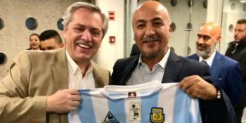 Llega a México el presidente electo de Argentina, Alberto Fernández