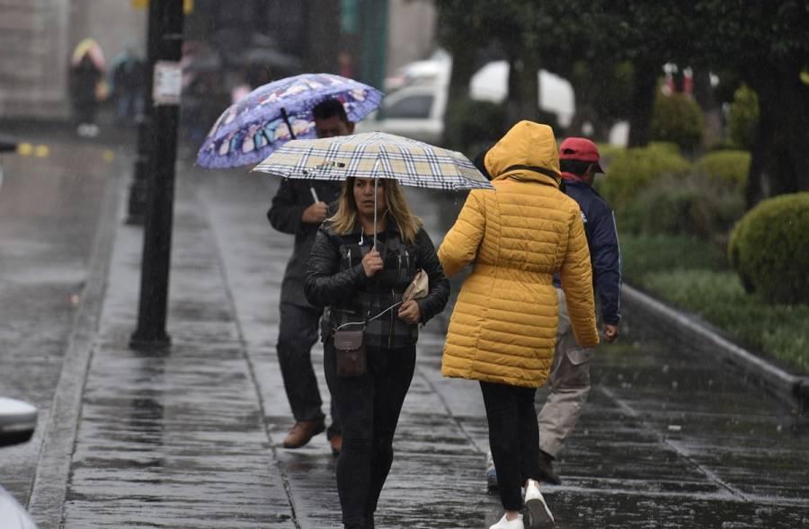Prevén lluvias torrenciales en cinco estados este domingo
