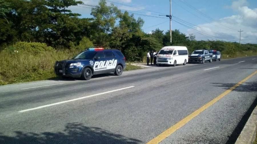 Turista española es tomada como rehén durante asalto en carretera de Cancún
