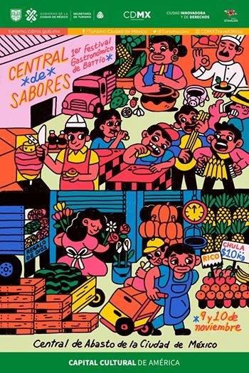 Invita la Central de Abasto de la CDMX a su primer Festival Gastronómico