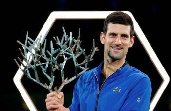 Djokovic se corona campeón del Masters 1000 de París