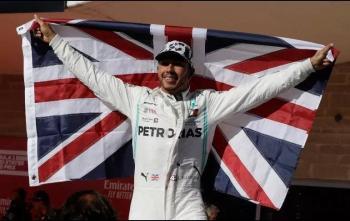 Lewis Hamilton alcanza su sexto campeonato de Fórmula 1. Termina en segundo lugar del GP de EU