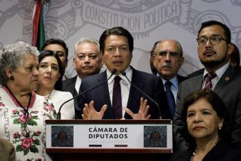 Avalará Morena reducción de financiamiento a partidos: Mario Delgado
