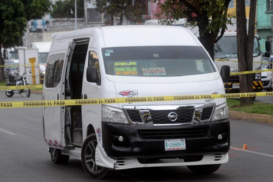 Promedia CDMX 199 asaltos al día en transporte público