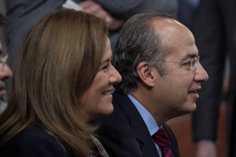 Felipe Calderón y Margarita Zavala consideraron cobarde vincular a su hijo a ataques contra periodistas