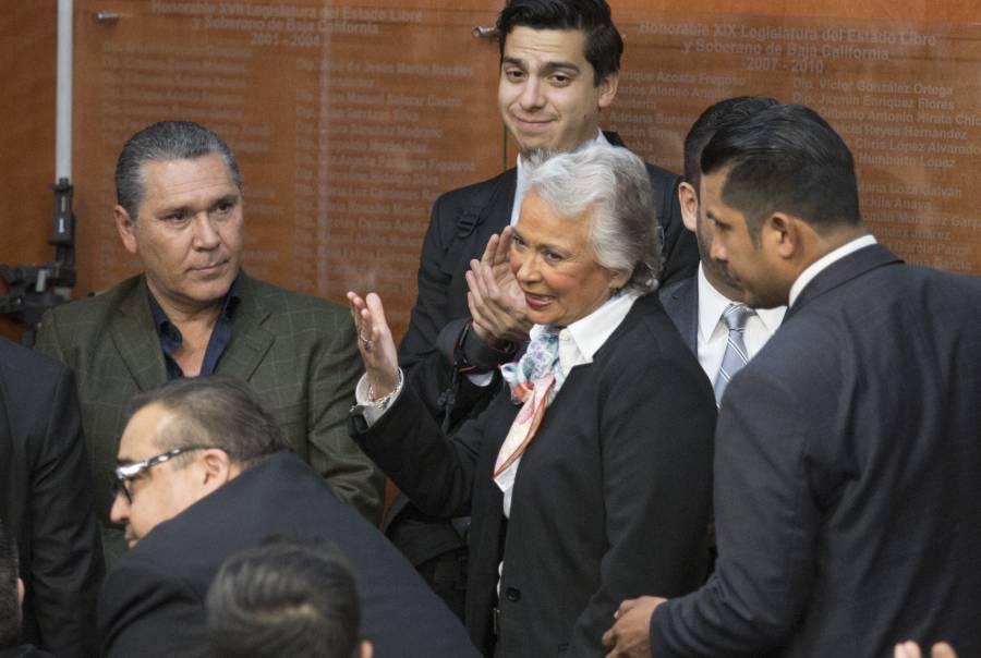 """Lamenta Sánchez Cordero las """"malas interpretaciones"""" de sus declaraciones en Baja California"""