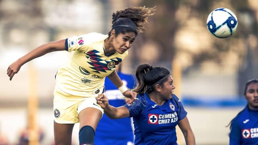 América y Cruz Azul firman un empate en la Liga MX Femenil