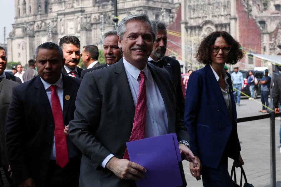 AMLO tiene encuentro con presidente electo de Argentina